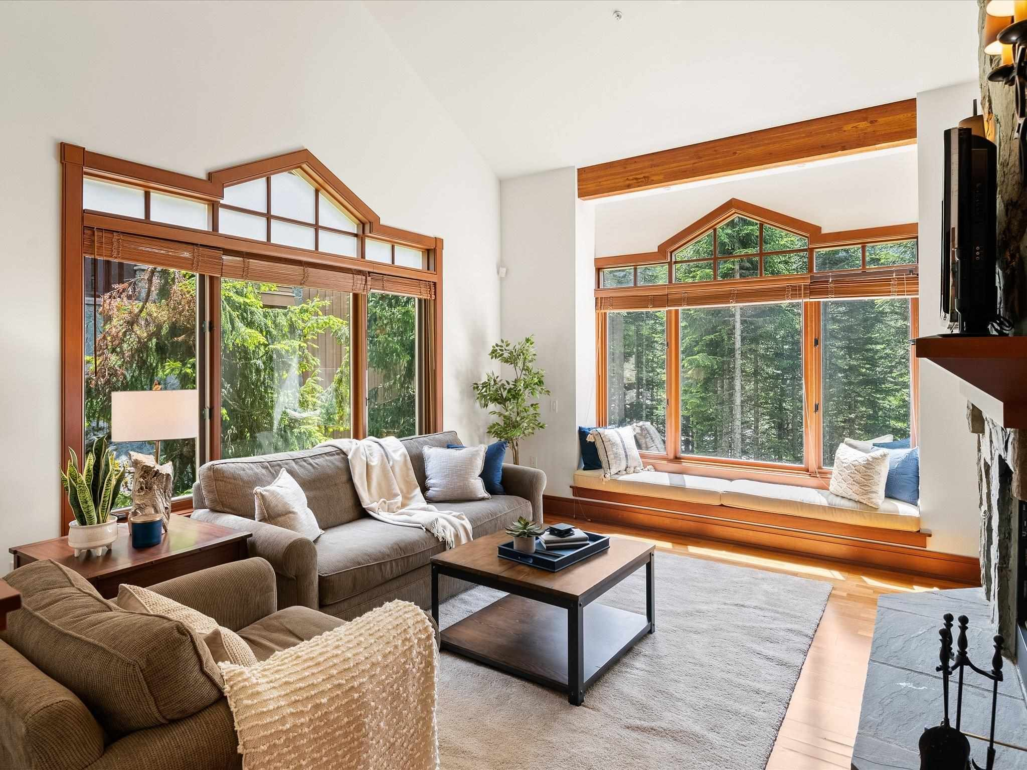 Photo 2: Photos: 4 2500 TALUSWOOD PLACE in Whistler: Nordic Townhouse for sale : MLS®# R2593995