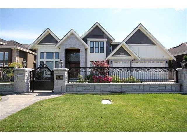 "Main Photo: 7480 CHELSEA Road in Richmond: Granville House for sale in ""GRANVILLE"" : MLS®# V1112730"