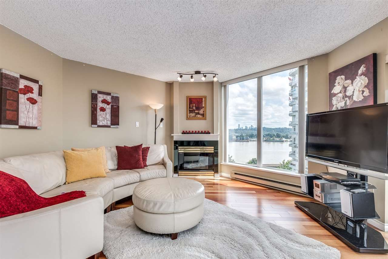 Main Photo: 1107 71 JAMIESON COURT in New Westminster: Fraserview NW Condo for sale : MLS®# R2475178