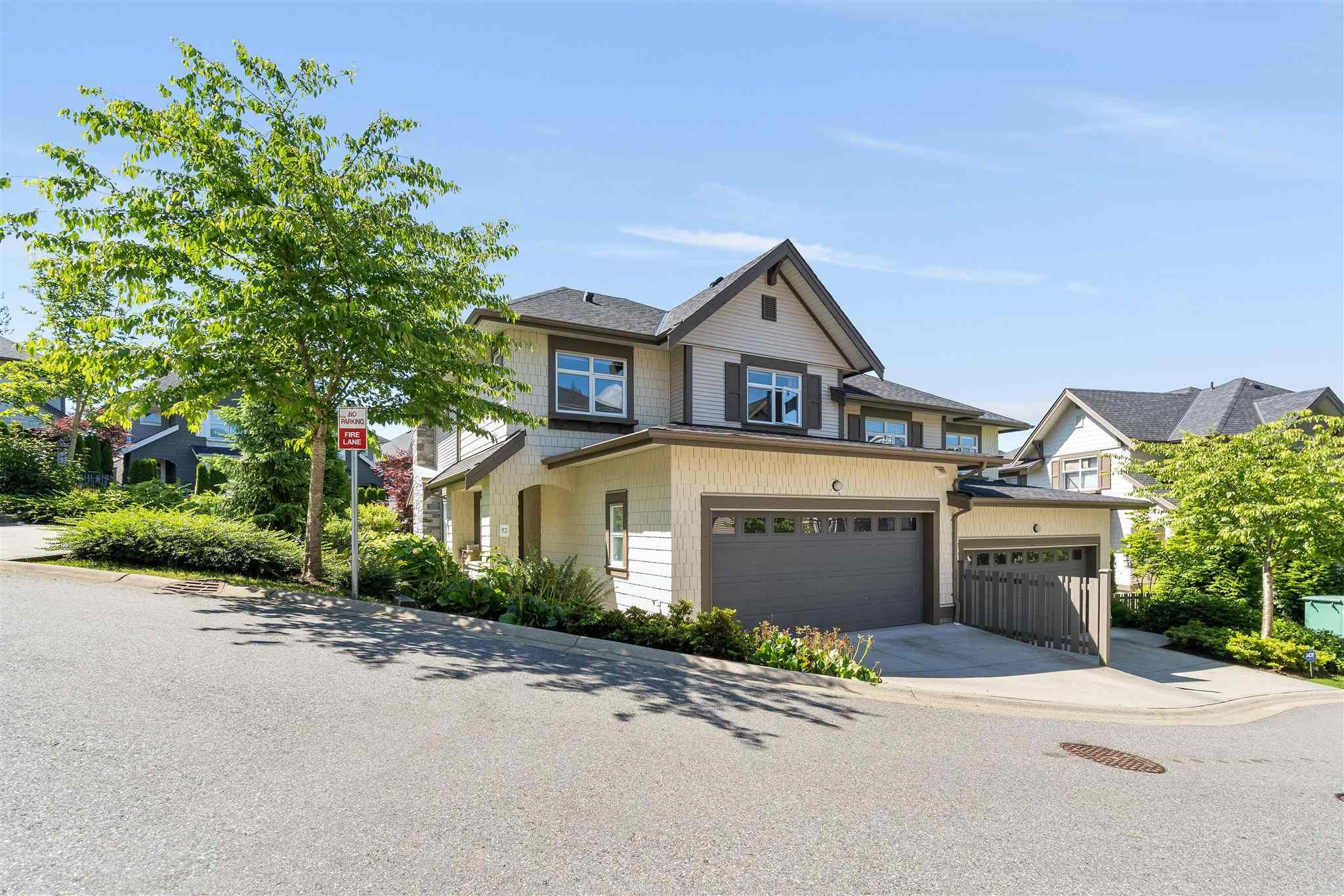 """Main Photo: 52 3400 DEVONSHIRE Avenue in Coquitlam: Burke Mountain Townhouse for sale in """"COLBORNE LANE BUILT BY POLYGON"""" : MLS®# R2594910"""