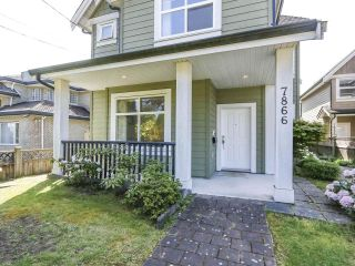 Photo 1: 7866 BENNETT Road in Richmond: Brighouse South 1/2 Duplex for sale : MLS®# R2364700
