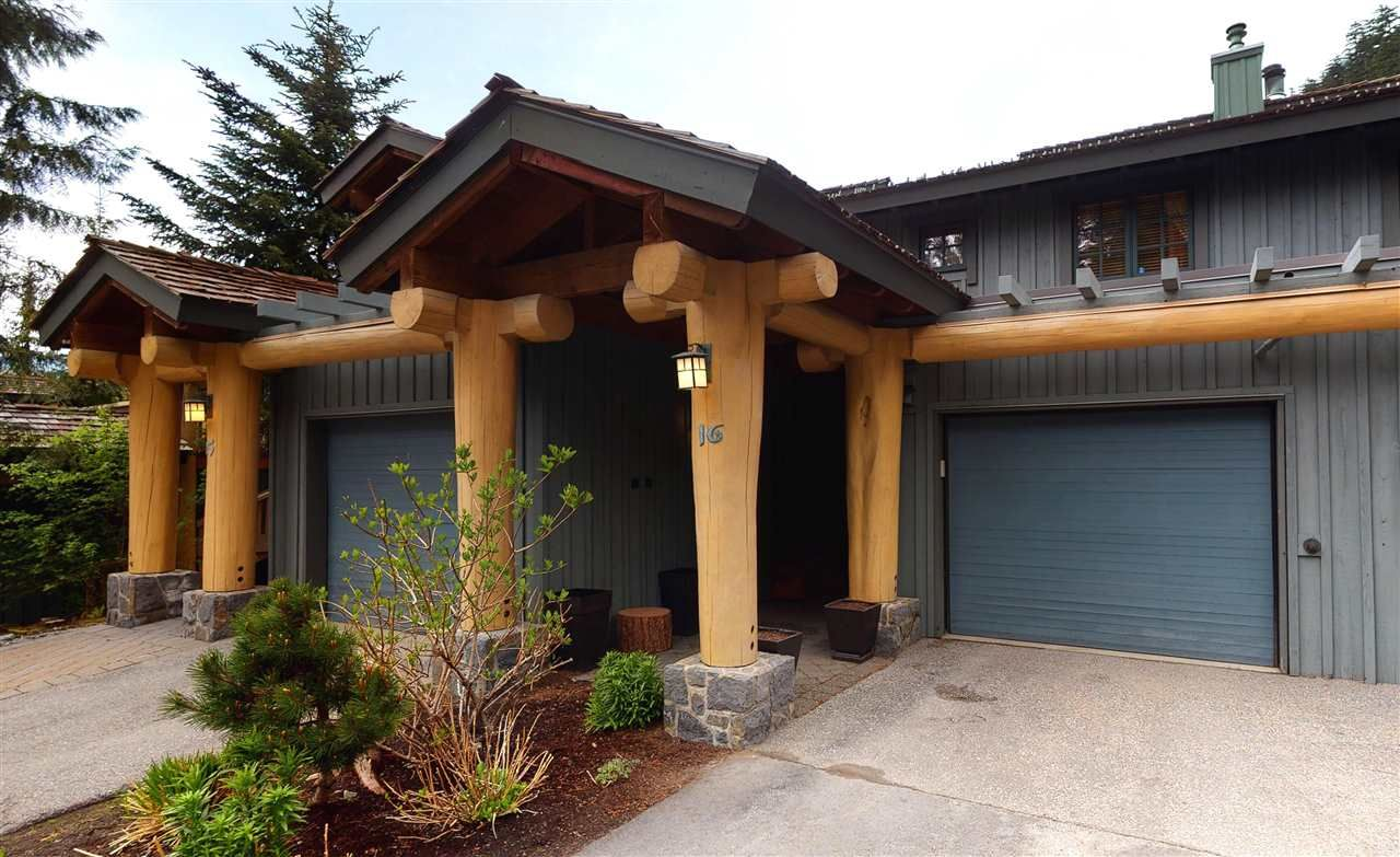 """Main Photo: 16 2250 NORDIC Drive in Whistler: Nordic Townhouse for sale in """"TALUSWOOD"""" : MLS®# R2586349"""