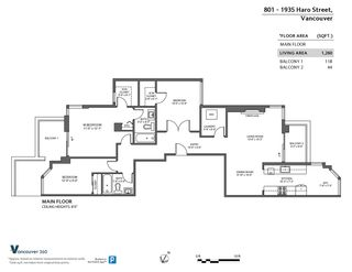 Photo 40: 801 1935 HARO STREET in Vancouver: West End VW Condo for sale (Vancouver West)  : MLS®# R2559149