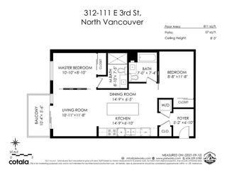"""Photo 26: 312 111 E 3RD Street in North Vancouver: Lower Lonsdale Condo for sale in """"Versatile"""" : MLS®# R2619546"""