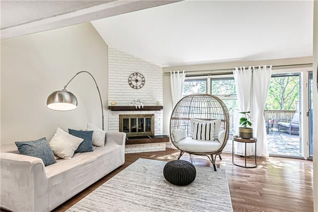Inviting and bright living room
