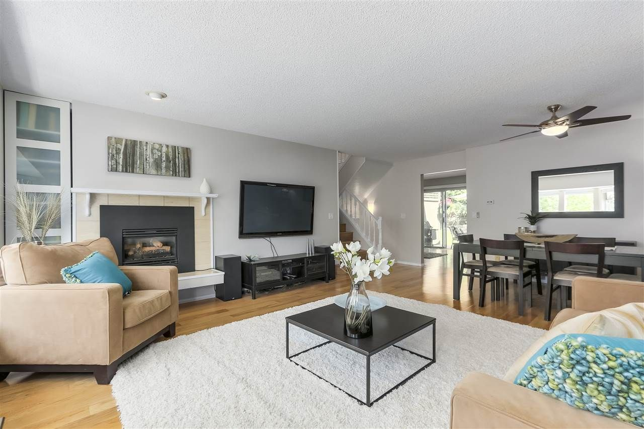 """Main Photo: 8861 LARKFIELD Drive in Burnaby: Forest Hills BN Townhouse for sale in """"PRIMROSE"""" (Burnaby North)  : MLS®# R2271483"""