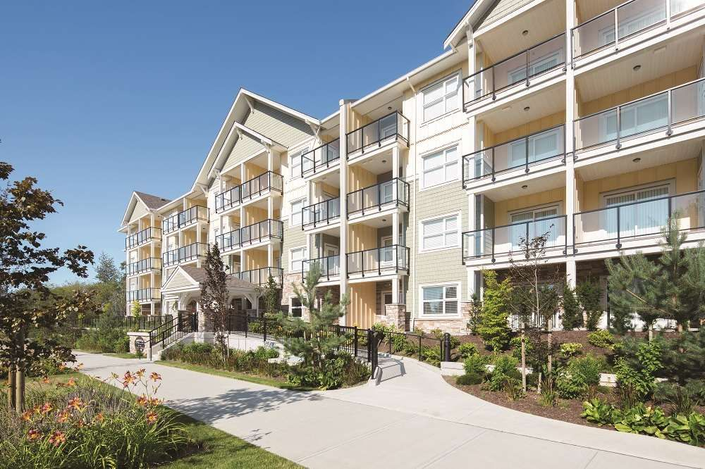 """Main Photo: 220 5020 221A Street in Langley: Murrayville Condo for sale in """"Murrayville"""" : MLS®# R2388885"""