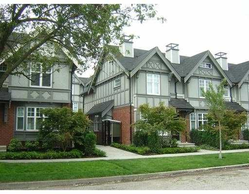 """Main Photo: 5601 WILLOW Street in Vancouver: Cambie Townhouse for sale in """"WILLOW"""" (Vancouver West)  : MLS®# V655470"""