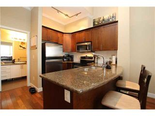 """Photo 3: 407 2627 SHAUGHNESSY Street in Port Coquitlam: Central Pt Coquitlam Condo for sale in """"VILLAGIO"""" : MLS®# V1076806"""