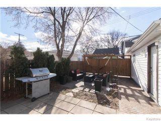 Photo 15: 140 Aubrey Street in Winnipeg: West End / Wolseley Residential for sale (West Winnipeg)  : MLS®# 1608340