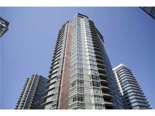 "Photo 1: 2404 1205 W HASTINGS Street in Vancouver: Coal Harbour Condo for sale in ""THE CIELO"" (Vancouver West)  : MLS®# V883729"
