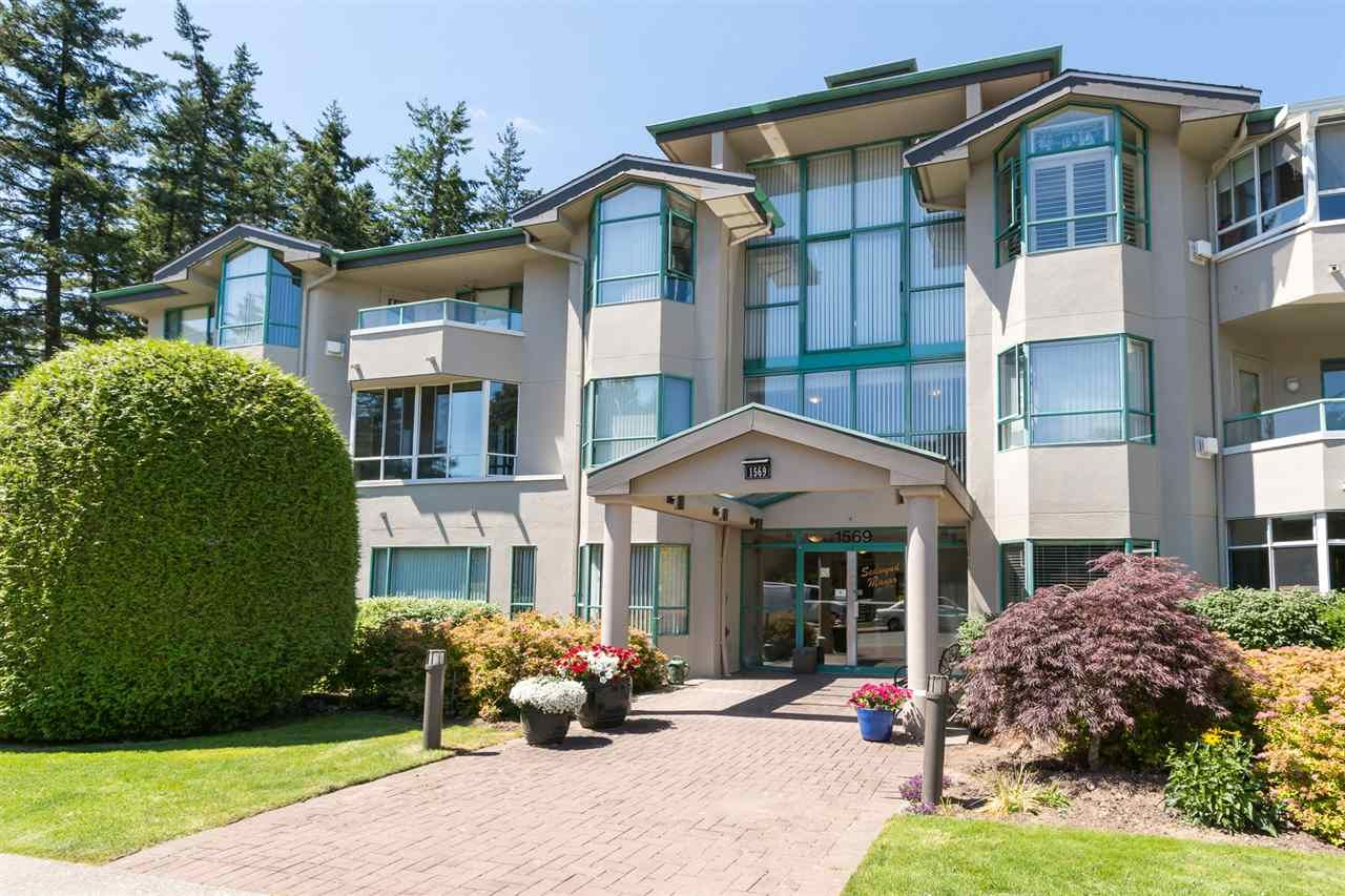 "Main Photo: 101 1569 EVERALL Street: White Rock Condo for sale in ""SEAWYND MANOR"" (South Surrey White Rock)  : MLS(r) # R2189000"