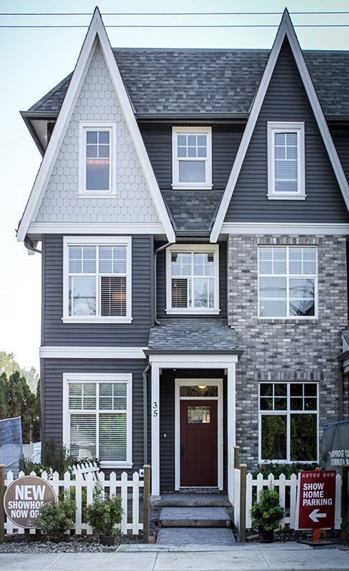"""Main Photo: 35 33460 LYNN Avenue in Abbotsford: Central Abbotsford Townhouse for sale in """"ASTON TOW"""" : MLS®# F1447358"""