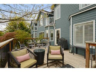 Photo 15: 1289 WOLFE Avenue in Vancouver: Fairview VW Townhouse for sale (Vancouver West)  : MLS®# V1059138