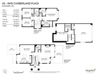 """Photo 40: 63 8415 CUMBERLAND Place in Burnaby: The Crest Townhouse for sale in """"Ashcombe"""" (Burnaby East)  : MLS®# R2625029"""