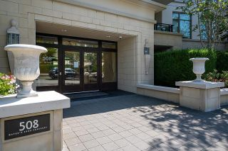 """Photo 1: 300 508 WATERS EDGE Crescent in West Vancouver: Park Royal Condo for sale in """"Waters Edge"""" : MLS®# R2603376"""