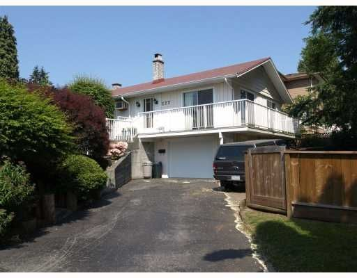 Main Photo: 277 ALLISON Street in Coquitlam: Coquitlam West House for sale : MLS®# V807915