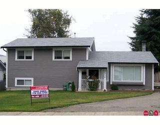 Photo 1: 2956 ORIOLE in Abbotsford: Abbotsford West House for sale : MLS®# F2823651