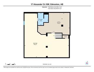 Photo 26: 17 ALEXANDER Circle in Edmonton: Zone 11 House for sale : MLS®# E4241665