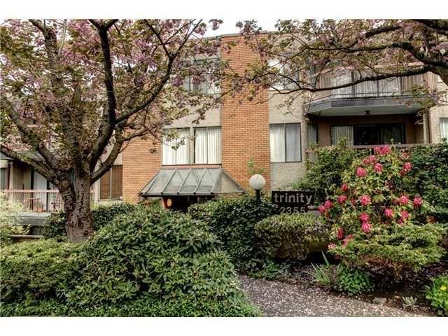 Main Photo: 203 2355 TRINITY Street: Hastings Home for sale ()  : MLS®# V952296