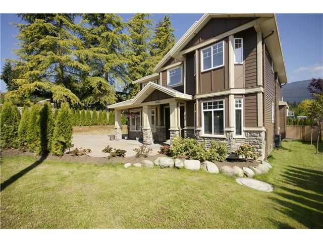 """Main Photo: 4142 MT SEYMOUR Parkway in North Vancouver: Indian River House for sale in """"INDIAN RIVER"""" : MLS®# V829891"""