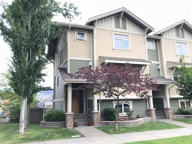 Main Photo: 1 576 NICOLA STREET in : South Kamloops Townhouse for sale (Kamloops)  : MLS®# 146876
