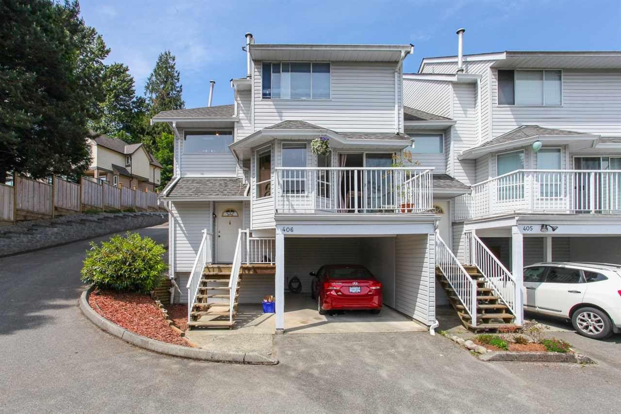 Main Photo: 406 1176 FALCON Drive in Coquitlam: Eagle Ridge CQ Townhouse for sale : MLS®# R2069583
