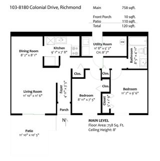 """Photo 27: 103 8180 COLONIAL Drive in Richmond: Boyd Park Townhouse for sale in """"Cherry Tree Place"""" : MLS®# R2581503"""