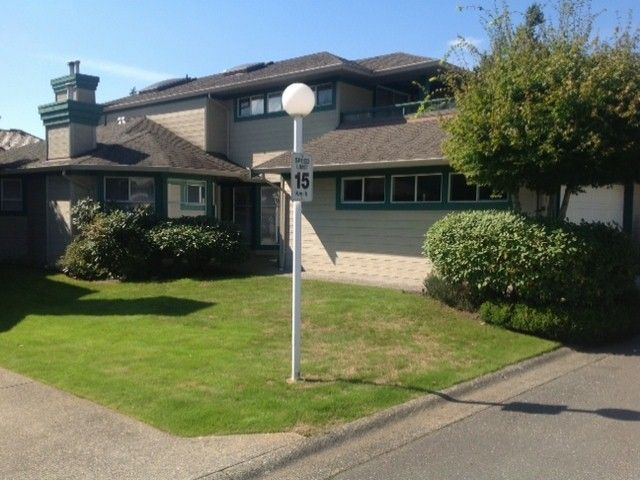 "Main Photo: 124 16080 82ND Avenue in Surrey: Fleetwood Tynehead Townhouse for sale in ""Ponderosa Estates"" : MLS®# F1321774"