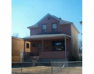 Photo 1: 504 ST JOHN'S Avenue in WINNIPEG: North End Single Family Detached for sale (North West Winnipeg)  : MLS®# 2705522