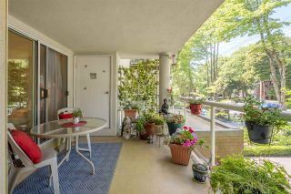 """Photo 1: 113 8300 BENNETT Road in Richmond: Brighouse South Condo for sale in """"Maple Court"""" : MLS®# R2614118"""