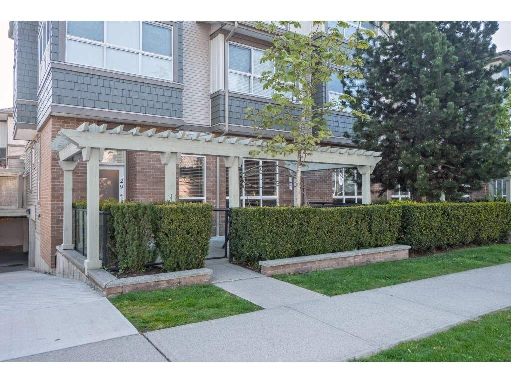 "Main Photo: 29 15353 100 Avenue in Surrey: Guildford Townhouse for sale in ""SOUL OF GUILDFORD"" (North Surrey)  : MLS®# R2366087"