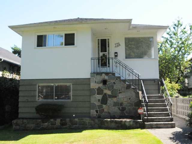 Main Photo: 770 E 22ND Avenue in Vancouver: Fraser VE House for sale (Vancouver East)