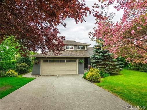 Main Photo: 599 Ridgegrove Ave in VICTORIA: SW Northridge House for sale (Saanich West)  : MLS®# 700992