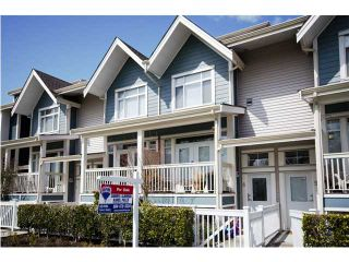 """Photo 1: 8 4311 BAYVIEW Street in Richmond: Steveston South Townhouse for sale in """"IMPERIAL LANDING"""" : MLS®# V896256"""