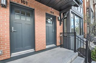 Photo 34: 102 1818 14A Street SW in Calgary: Bankview Row/Townhouse for sale : MLS®# A1113047