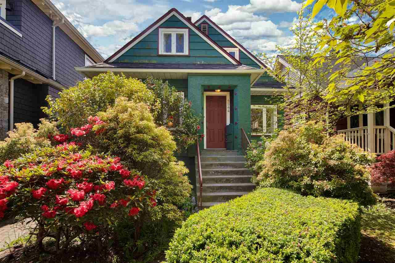Main Photo: 4544 W 13TH Avenue in Vancouver: Point Grey House for sale (Vancouver West)  : MLS®# R2455326