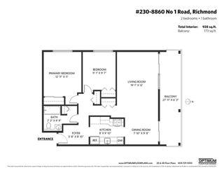 "Photo 17: 230 8860 NO. 1 Road in Richmond: Boyd Park Condo for sale in ""APPLE GREENE PARK"" : MLS®# R2514847"