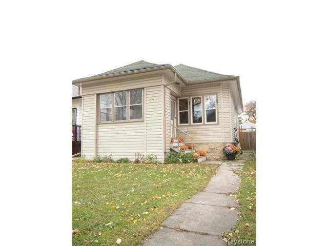 Main Photo: 577 Beresford Avenue in WINNIPEG: Manitoba Other Residential for sale : MLS®# 1323375