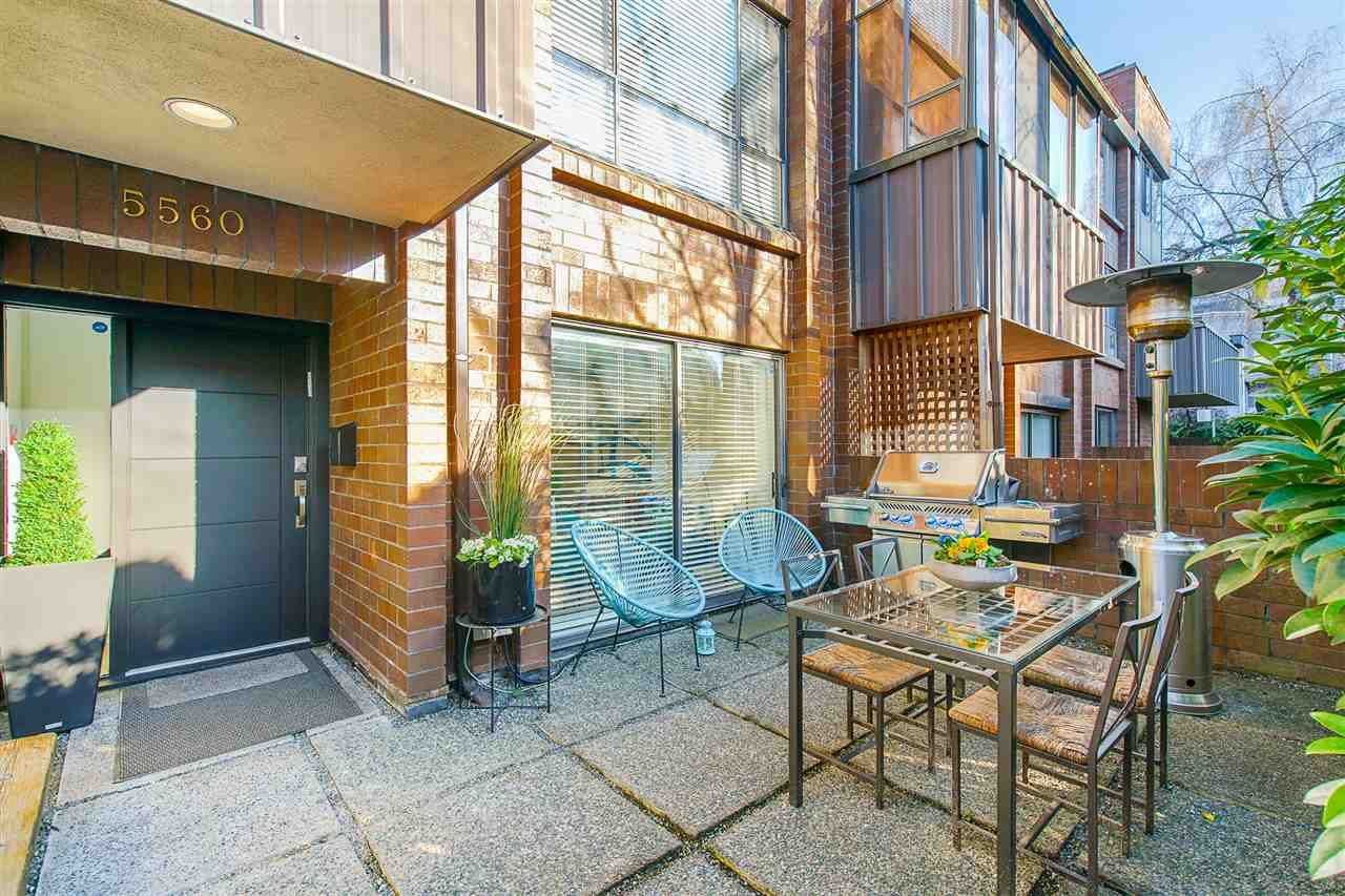 """Main Photo: 5560 YEW Street in Vancouver: Kerrisdale Townhouse for sale in """"The Diplomat"""" (Vancouver West)  : MLS®# R2553086"""