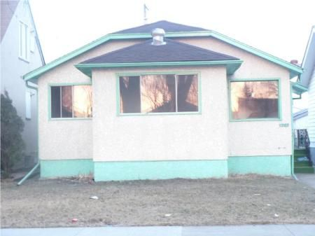 Main Photo: 1263 DOMINION ST in Winnipeg: Residential for sale (Canada)  : MLS®# 1005075
