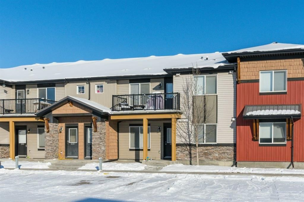 Main Photo: Floor plans: 2204 2781 Chinook Winds Drive SW: Airdrie Row/Townhouse for sale : MLS®# A1068164
