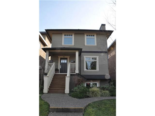 Main Photo: 72 E 15TH Avenue in Vancouver: Mount Pleasant VE Townhouse for sale (Vancouver East)  : MLS®# V1004139