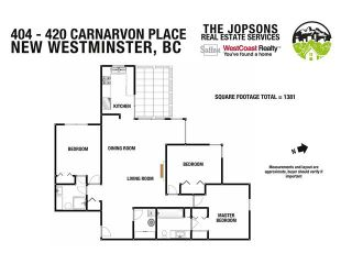 """Photo 18: 404 420 CARNARVON Street in New Westminster: Downtown NW Condo for sale in """"Carnarvon Place"""" : MLS®# V1081366"""