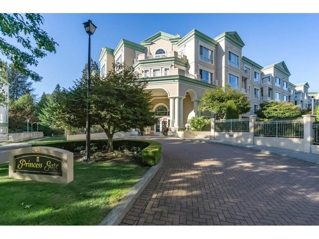 """Main Photo: 308 2985 PRINCESS Crescent in Coquitlam: Canyon Springs Condo for sale in """"PRINCESS GATE"""" : MLS®# R2210208"""