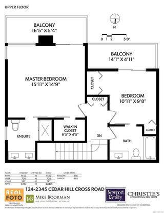 Photo 24: 124 2345 Cedar Hill Cross Rd in : OB Henderson Row/Townhouse for sale (Oak Bay)  : MLS®# 855560
