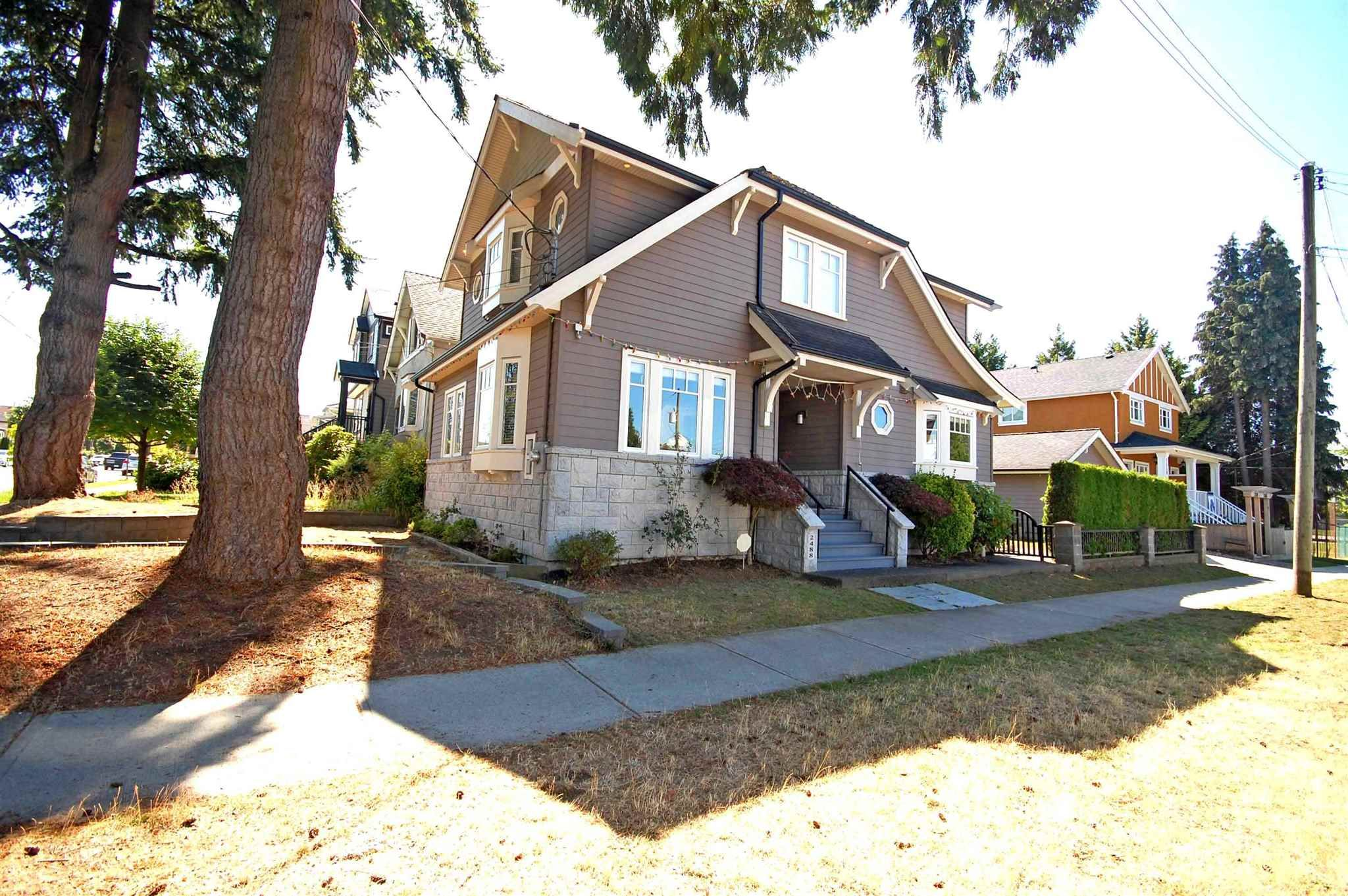 Main Photo: 2488 E 37TH Avenue in Vancouver: Collingwood VE House for sale (Vancouver East)  : MLS®# R2601929