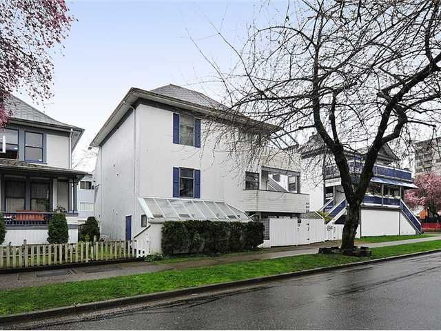 Main Photo: 1038 CARDERO Street in Vancouver: West End VW Triplex for sale (Vancouver West)  : MLS®# V1036593