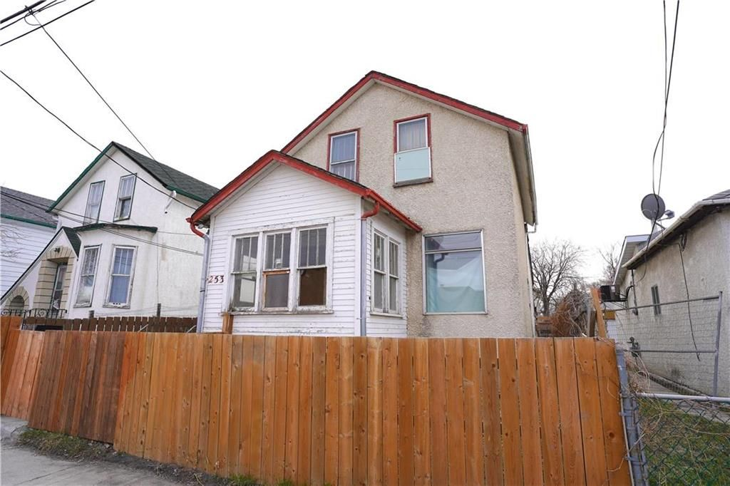 Main Photo: 253 Patrick Street in Winnipeg: Downtown Residential for sale (9A)  : MLS®# 202110010
