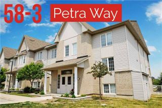 Photo 1: 3 58 Petra Way in Whitby: Pringle Creek Condo for sale : MLS®# E3514170